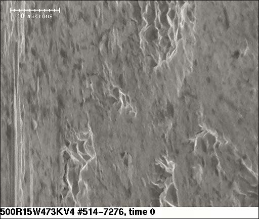 0805 size pure tin 2500x magnification time 0