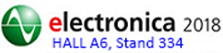 Johanson will be exhibiting at Electronica 2018 Hall A6 Stand 334