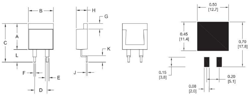 Resistor Power Thin Film Dimensions