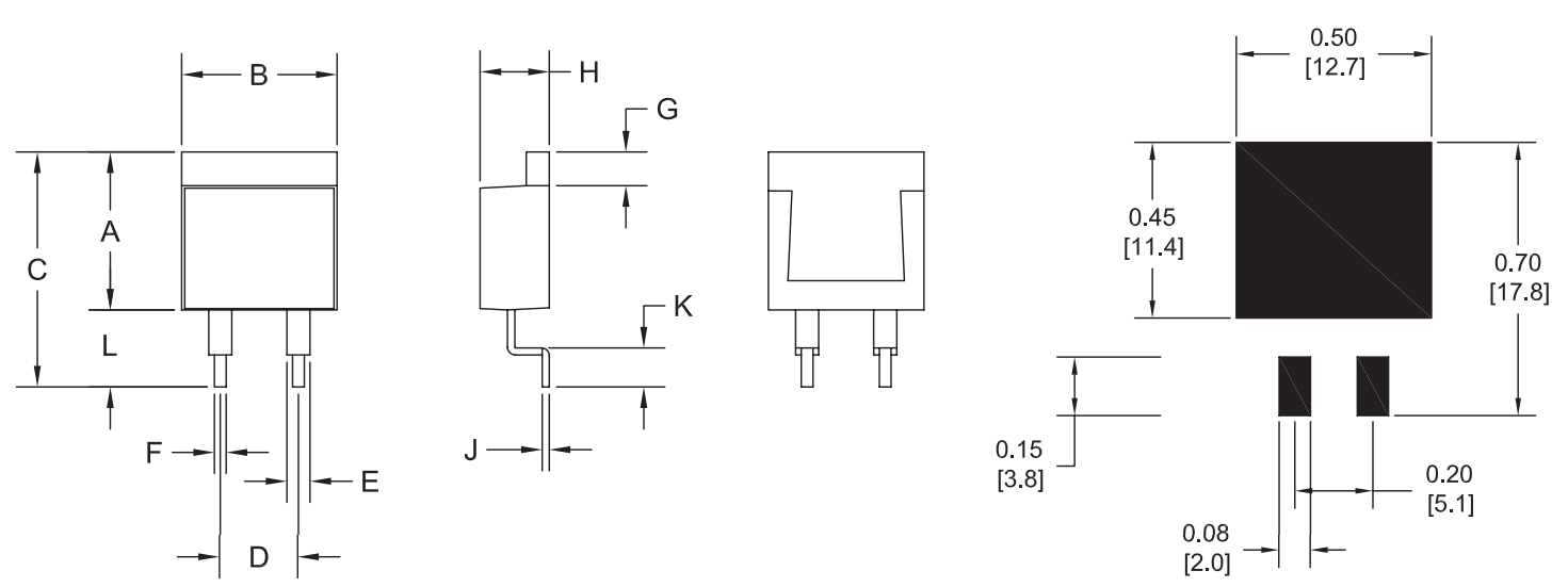 RHF Series Dimensions