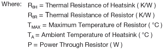 Description of equations of Thin film Resistor