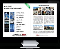 Imac showing Johanson Technology Product Catalog